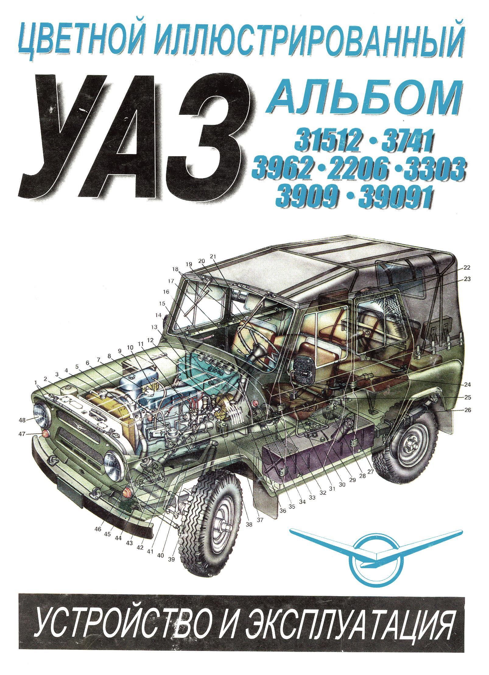 Автомобили уаз техническое обслуживание и ремонт